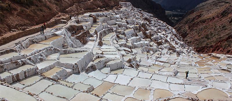 Salineras, minas de sal en la ruta de Moray