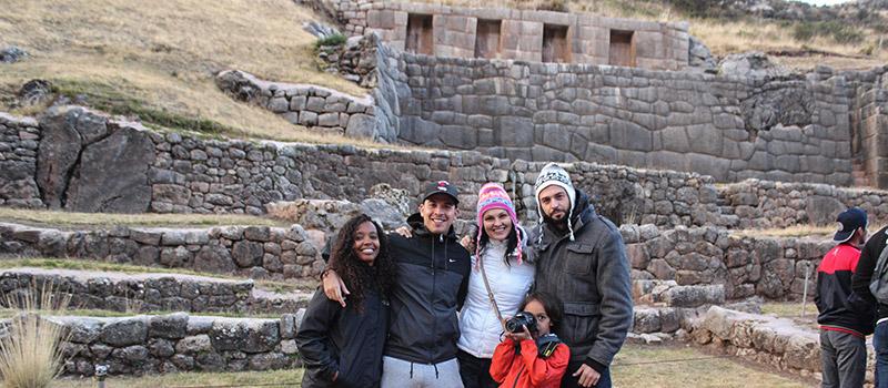 Tambomachay, Centro de ceremonia Inca