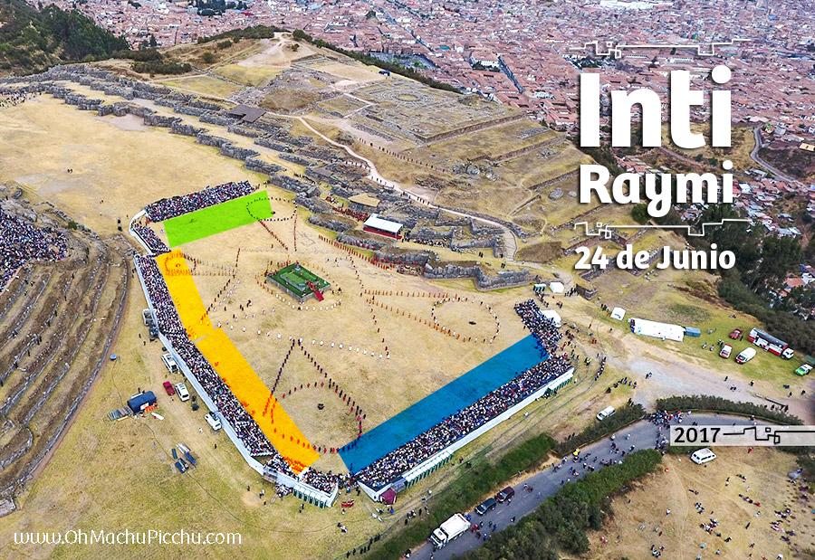 Inti Raymi Ubicación